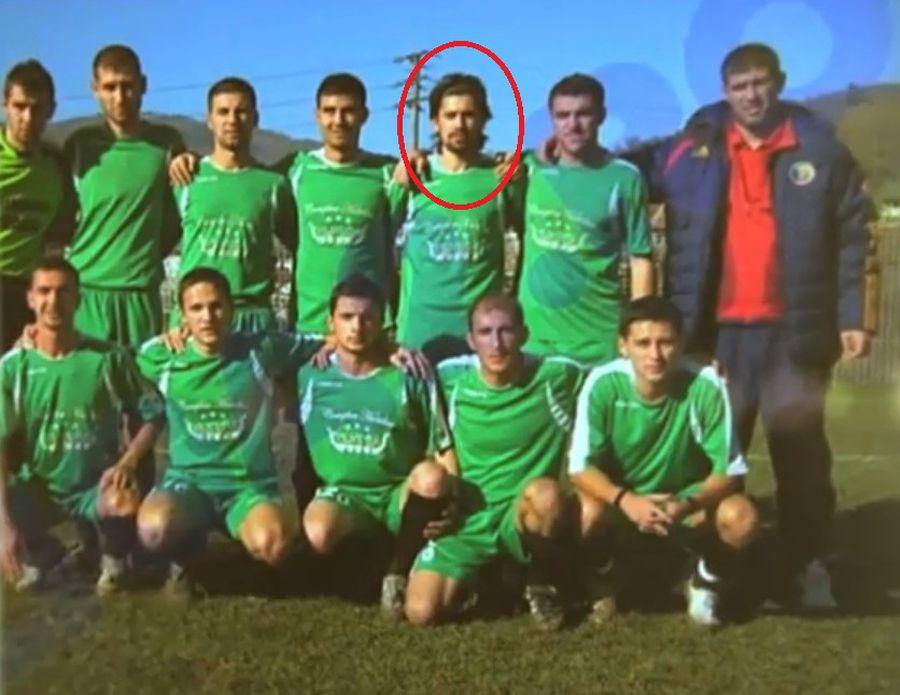 Alberto Chelu, în tricoul Daciei Mioveni