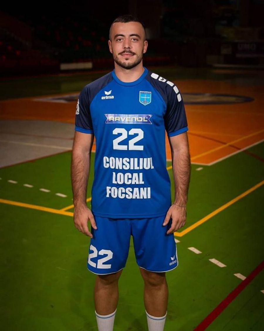 Valentin Mocanu, jucătorul aflat în mijlocul scandalului dintre FRH și CSM Focșani