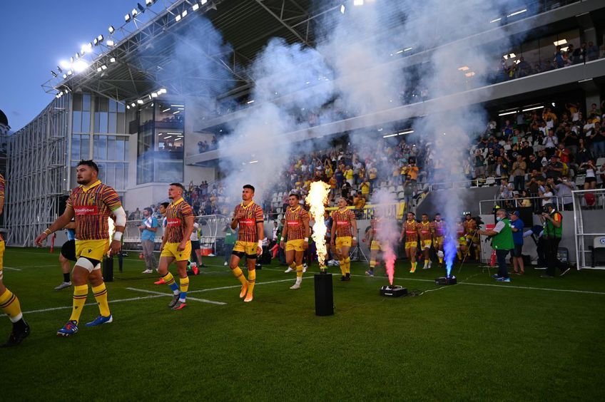 Federația Română de Rugby dorește comasarea primelor două eșaloane. S-ar crea astfel o SuperLigă cu 16 echipe la start.