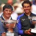 Toni Nadal și nepotul său, Rafa Nadal // FOTO: Guliver/GettyImages