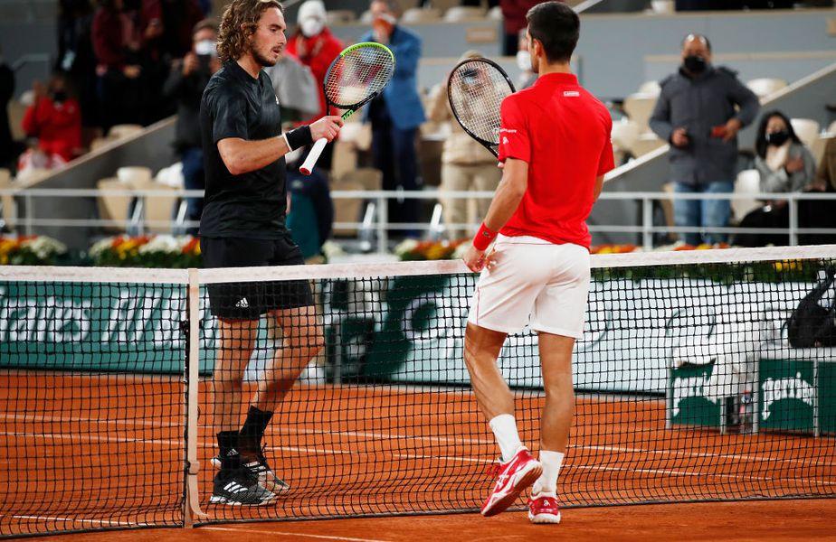 Grecul Stefanos Tsitsipas (22 de ani, 6 ATP) își acuză colegii din circuit, fără a da nume, de ipocrizie.