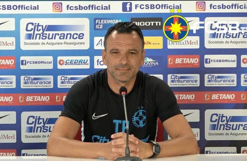 FCSB o înfruntă sâmbătă pe FC Botoșani, sâmbătă, de la ora 21:45, în runda cu numărul 10 din Liga 1. Antrenorul Toni Petrea (45 de ani) a prefațat înfruntarea de pe Arena Națională.