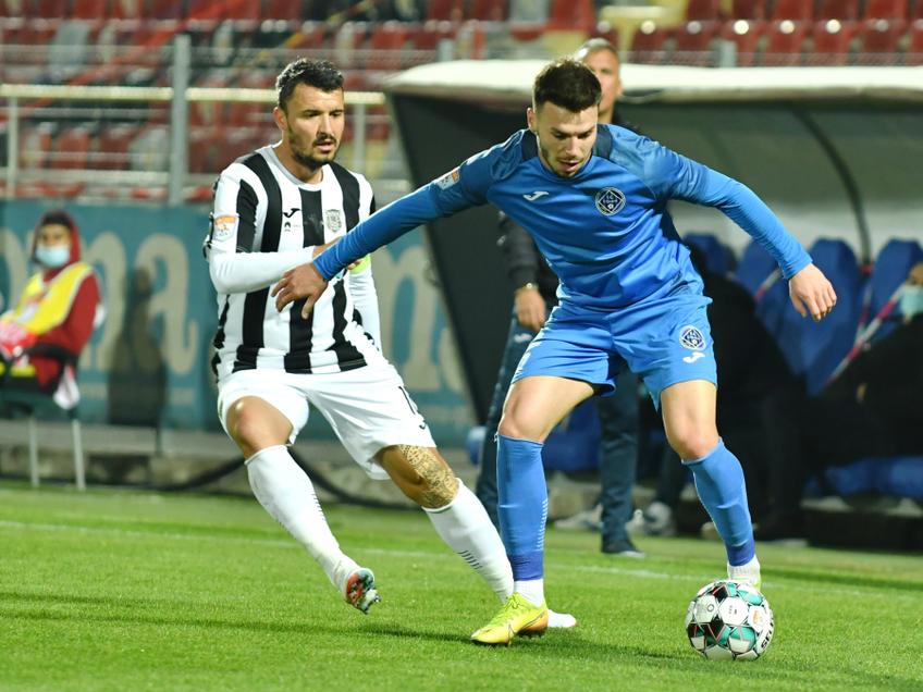 Academica Clinceni a învins Astra Giurgiu, scor 2-0, și a urcat pe locul 4 în Liga 1