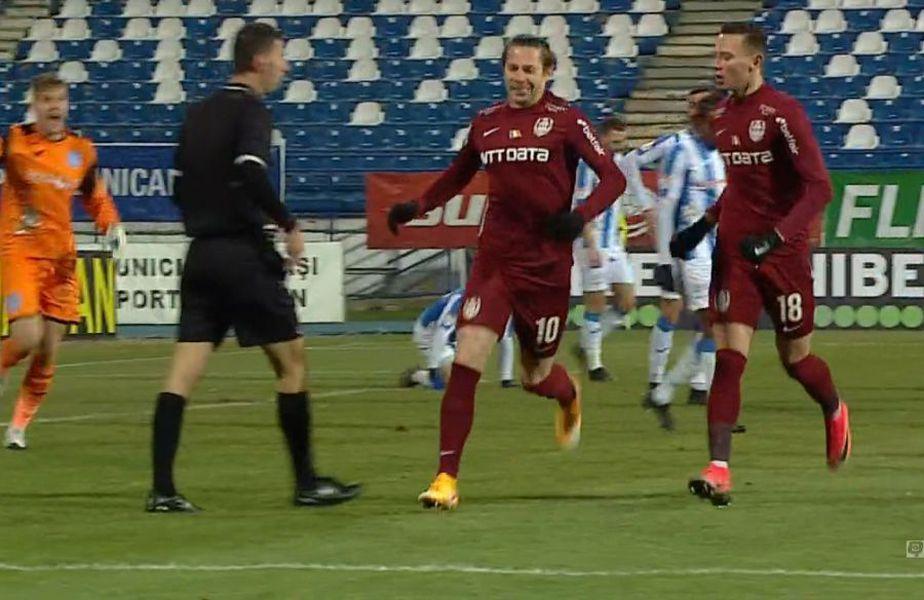 POLI IAȘI - CFR CLUJ, liveTEXT pe GSP.ro  FOTO: Captură @TV Telekom Sport