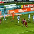 Portarul maghiar Levente Bosz a reproșat că mingea ar fi părăsit suprafața de joc înainte ca Rondon să ofere pasa decisivă.