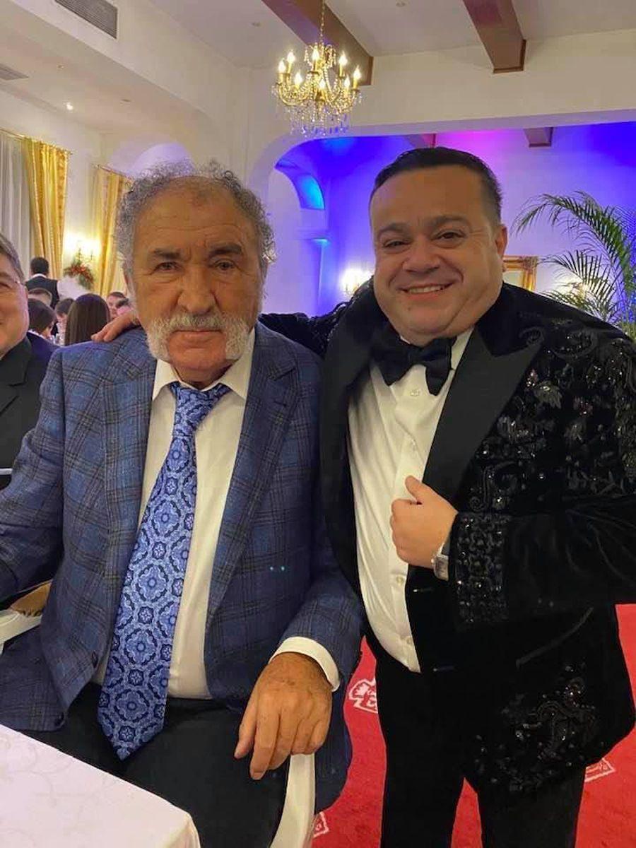 FOTO Ion Țiriac și Ilie Năstase, petrecere cu Adrian Minune