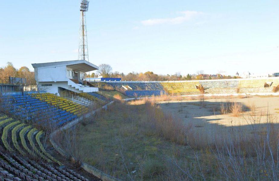 """Stadionul """"Municipal"""" din Bacău"""