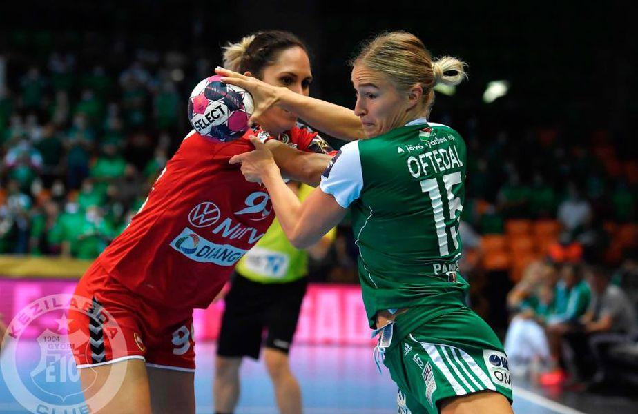 Duel între Stine Oftedal și Mireya Gonzalez, o campioană europeană și o vicecampioană mondială FOTO Gyor