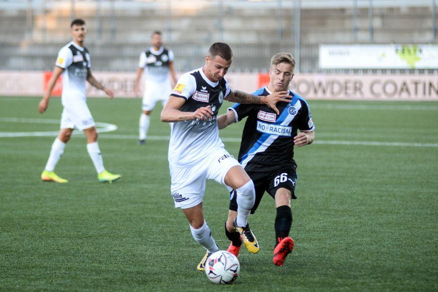 Andrea Padula în tricoul lui FC Wil (foto: Imago)