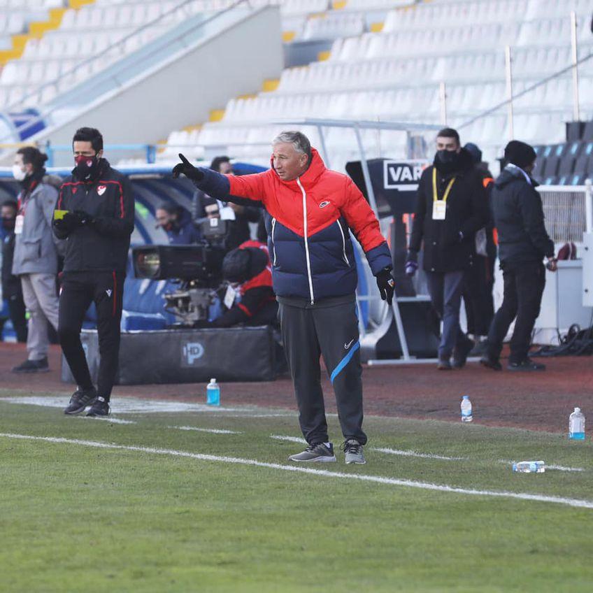 Dan Petrescu (53 de ani) FOTO Facebook Kayserispor