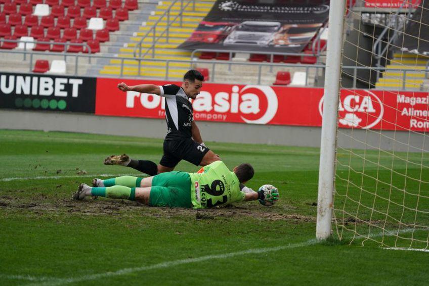Istvan Kovacs le-a anulat un gol oaspeților FOTO: Alexandra Fechete