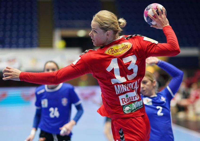 Evghenija Minevskaja a fost desemnată jucătoarea partidei FOTO SCM Rm. Vâlcea