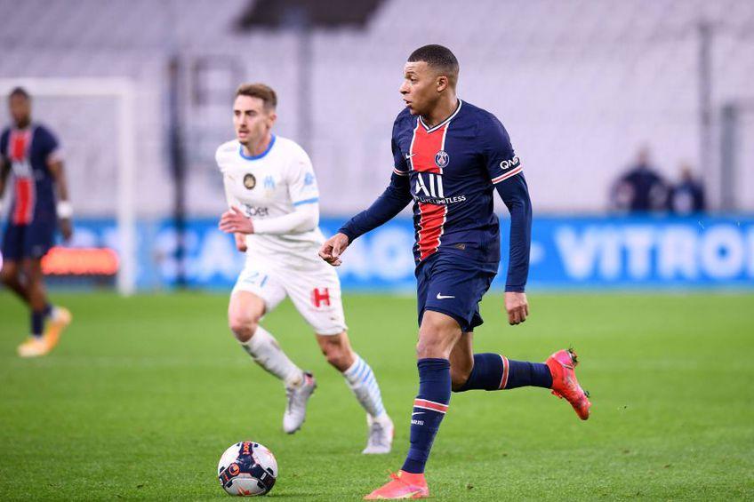 Olympique de Marseille - PSG 0-2 // foto: Imago