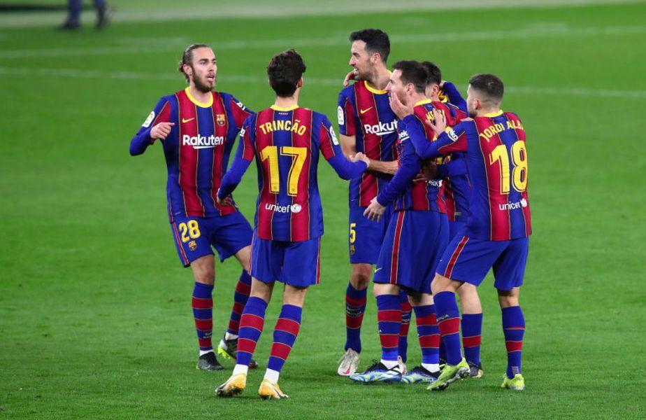 Barcelona a învins-o pe Betis, scor 3-2, în runda cu numărul 22 din La Liga @Getty