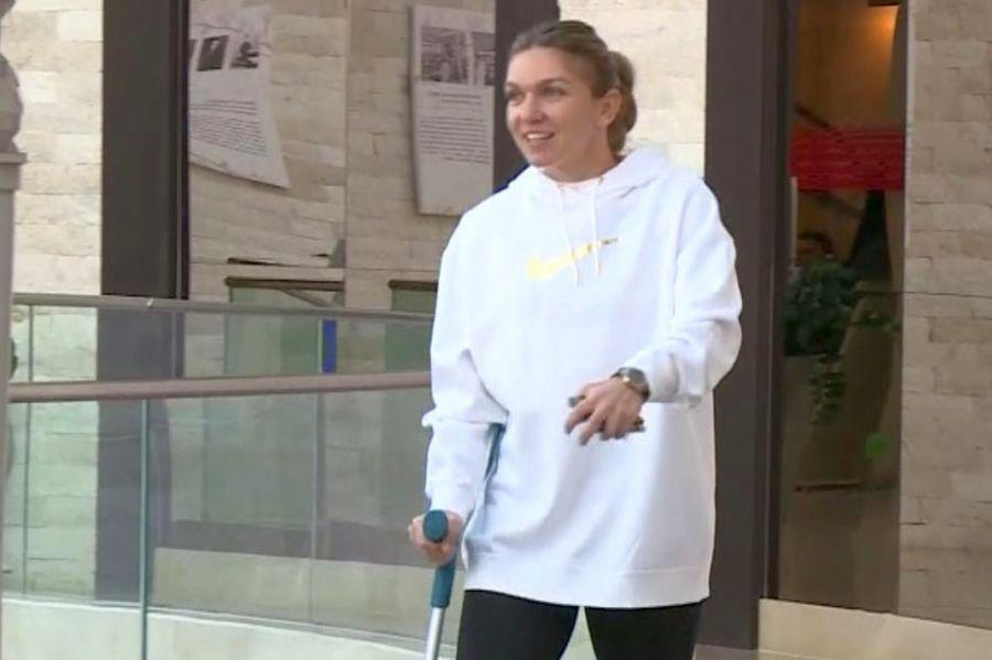 FOTO Simona Halep, în suferință! Fotografia care a prevestit retragerea de la Indian Wells