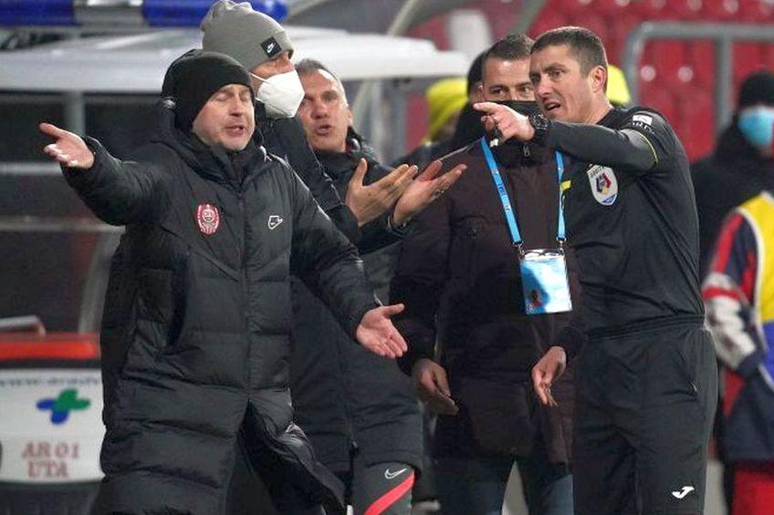 Edi Iordănescu a fost eliminat la Arad. FOTO: Alexandra Fechete