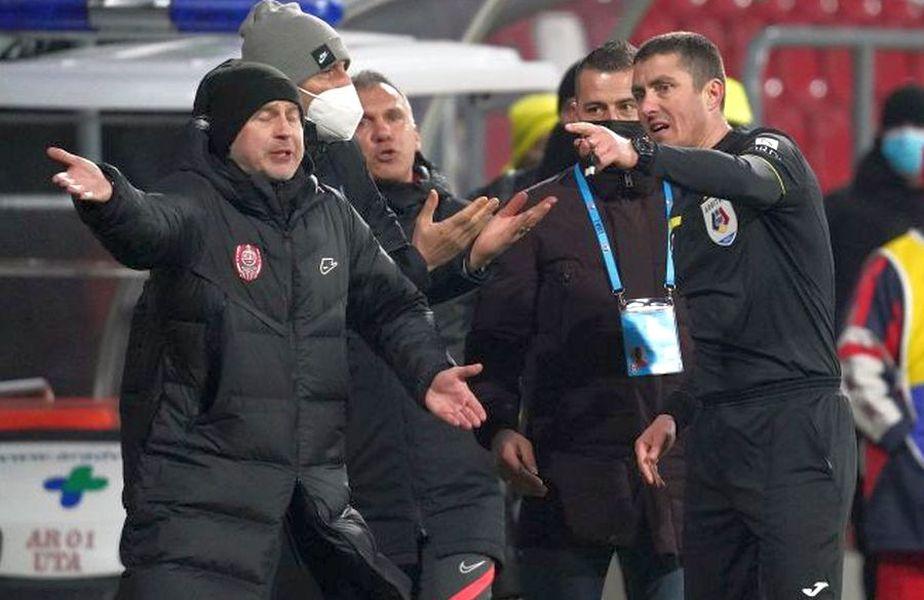 Edi Iordănescu a fost eliminat la Arad / Sursă foto: Alexandra Fechete