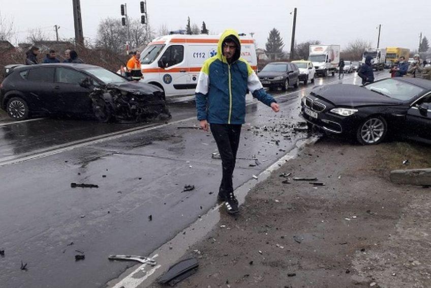 Cinci fotbaliști ai echipei FC Pucioasa au fost implicați într-un grav accident auto / Sursă foto: dbonline.ro