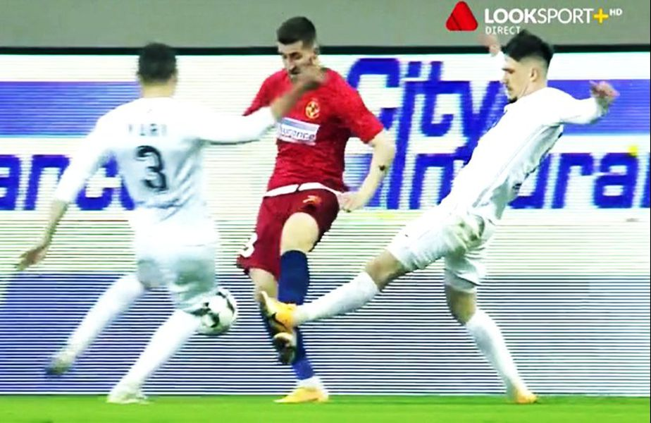Penalty solicitat de FCSB cu Gaz Metan