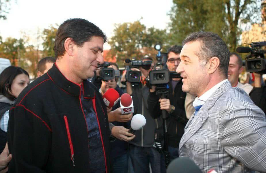 Marius Lăcătuș și Gigi Becali au lucrat împreună, dar acum sunt rivali