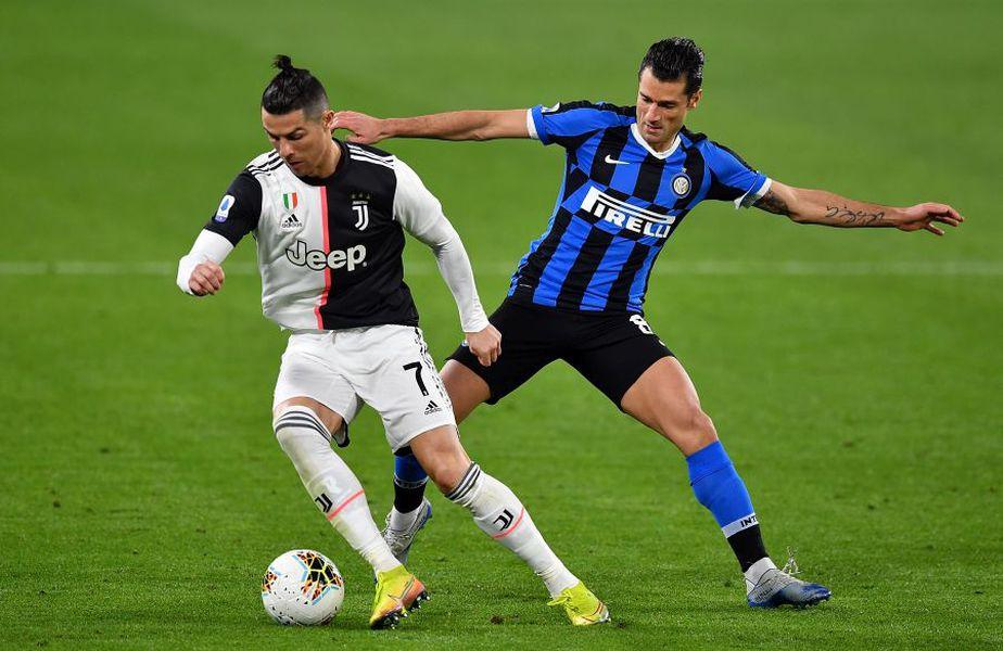 Juventus, Lazio și Inter se luptă pentru titlu în Serie A // sursă foto: Guliver/gettyimages
