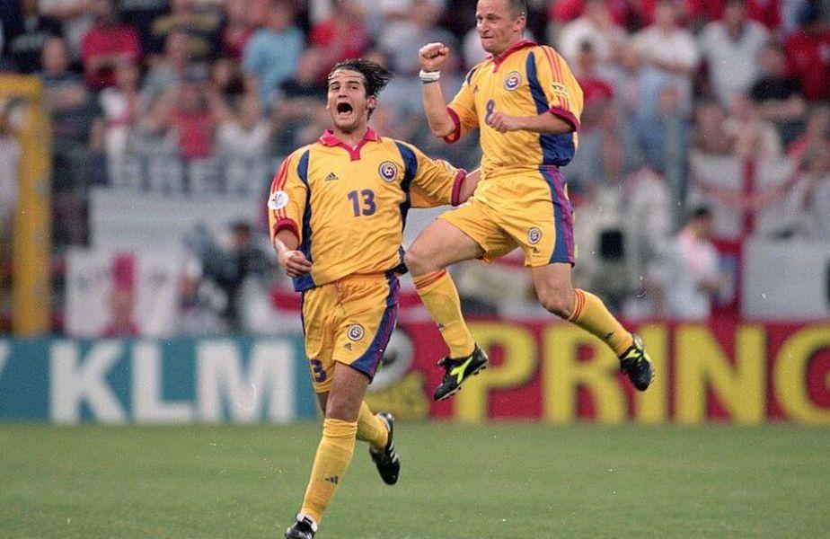 Nanu jucase meciurile din preliminarii, dar pentru EURO 2000 a fost preferat Chivu