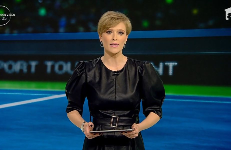 Alexandra Tudor, prezentatoare Antena Sport