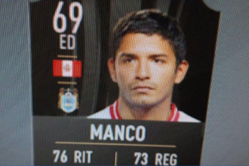Youtuber-ul Loulogio a primit cardul lui Reimond Manco // sursă foto: Twitter @ loulogio_pi