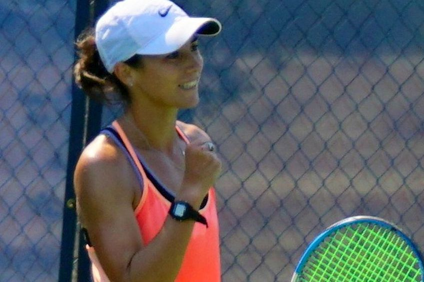 Gabriela Talabă a pierdut în primul tur al turneului de la Charleston. Sursă foto: Facebook
