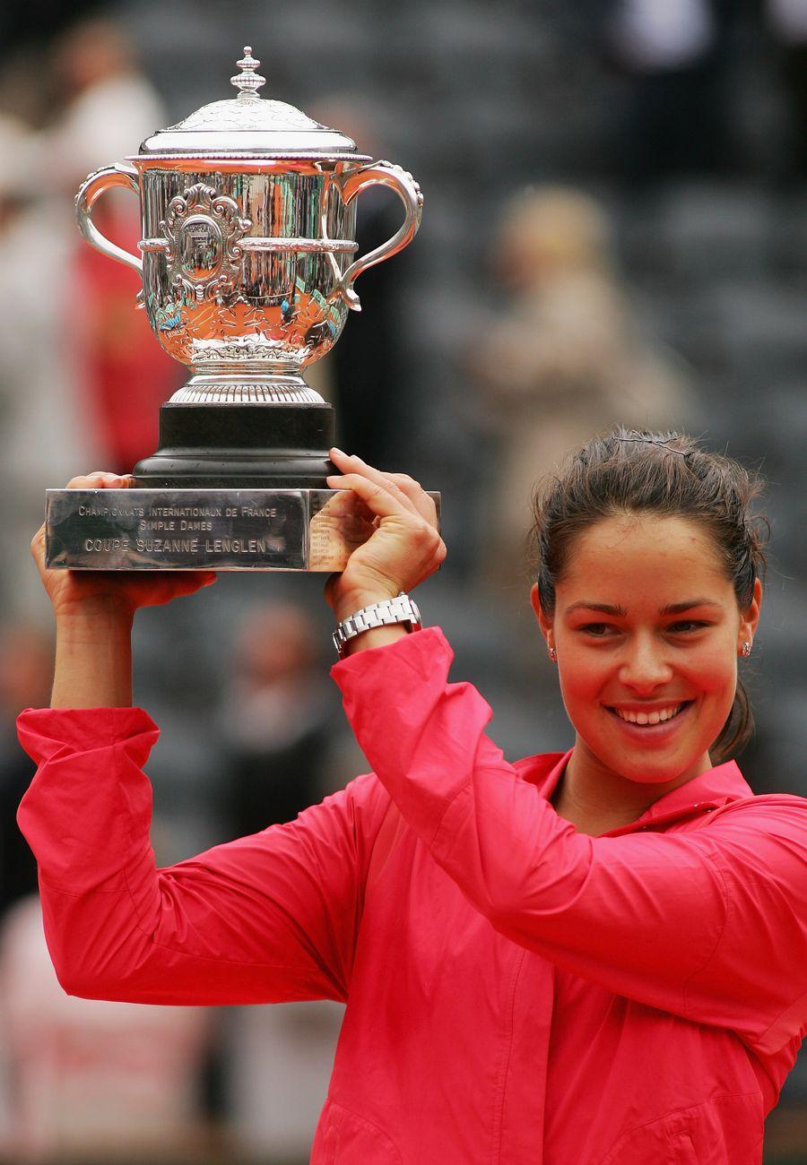 Ana Ivanovic, campioană la Paris în 2008 FOTO Guliver/Gettyimages