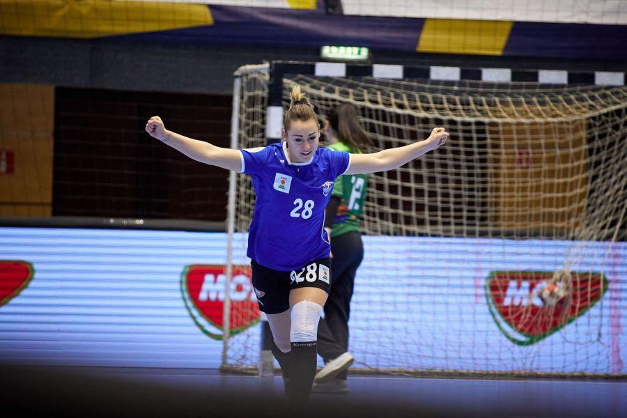 Alina Czeczi a avut o evoluție foarte bună cu Gloria Buzău FOTO sportpictures.eu