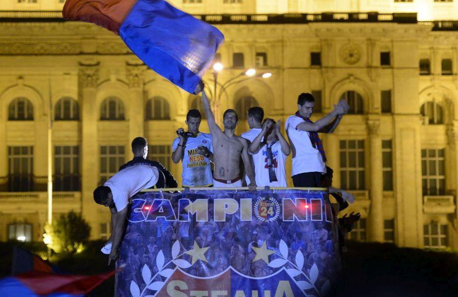 Pîrvulescu a câștigat de 3 ori campionatul cu FCSB, în perioada 2012-2015