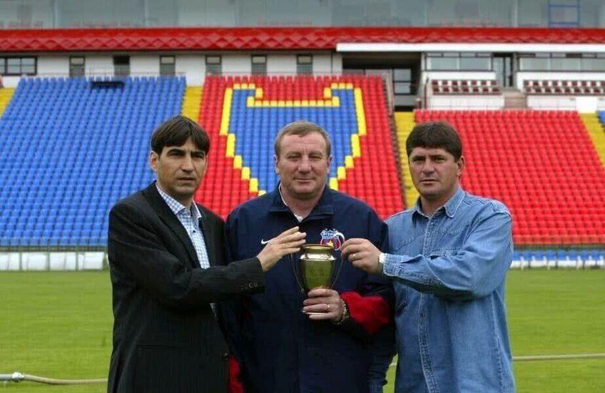 Ștefan Iovan (dreapta) este unul dintre cei mai buni fundași din istoria Stelei