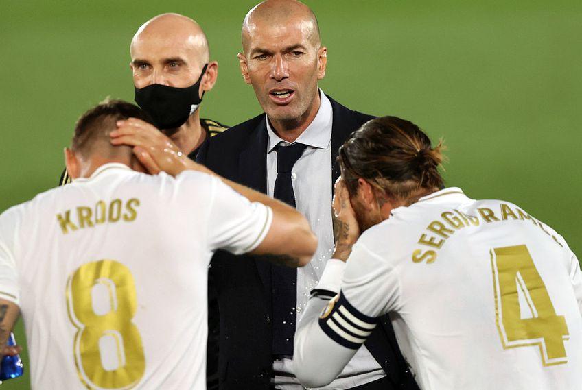 Zidane ar putea pleca de la Real Madrid // FOTO: Guliver/GettyImages