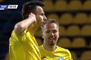 Dunărea - Rapid, Rezultat miraculos în play-off, după două goluri inventate de arbitru