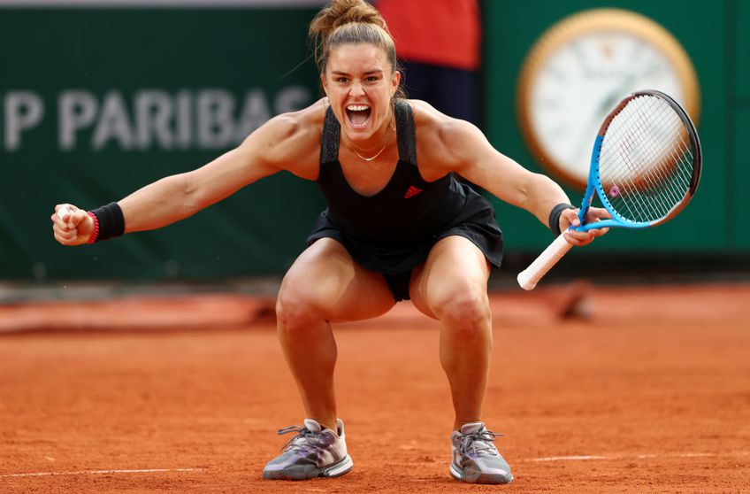 Maria Sakkari (25 de ani, 18 WTA) a învins-o fără emoții pe Sofia Kenin (22 de ani, 5 WTA), scor 6-1, 6-3, și s-a calificat în sferturile de finală de la Roland Garros 2021.