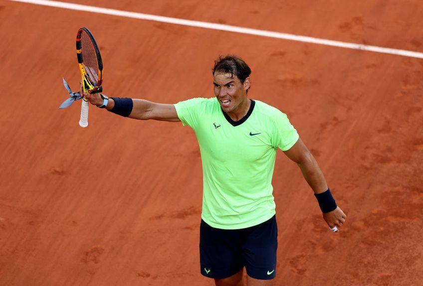 Rafael Nadal (35 de ani, 3 ATP) s-a calificat în sferturile de finală de la Roland Garros 2021. A trecut în 3 seturi de italianul Jannik Sinner (19 ani, 19 ATP), scor 7-5, 6-3, 6-0.