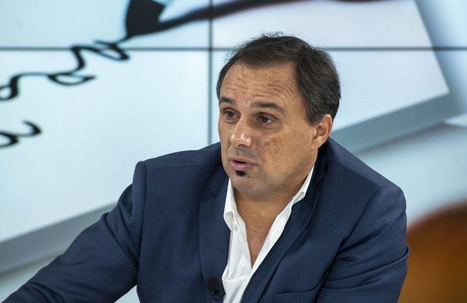 """Basarab Panduru în timpul emisiunii """"Prietenii lui Ovidiu"""" // FOTO: GSP"""