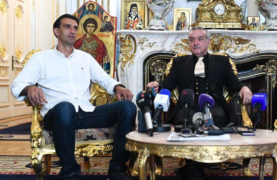 Gigi Becali vrea să renunțe la Bogdan Vintilă