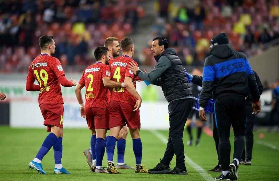 FCSB ar putea rămâne în scurt timp fără antrenor. Gigi Becali se gândește să renunțe la Bogdan Vintilă și să-l numească principal pe Mihai Pintilii.