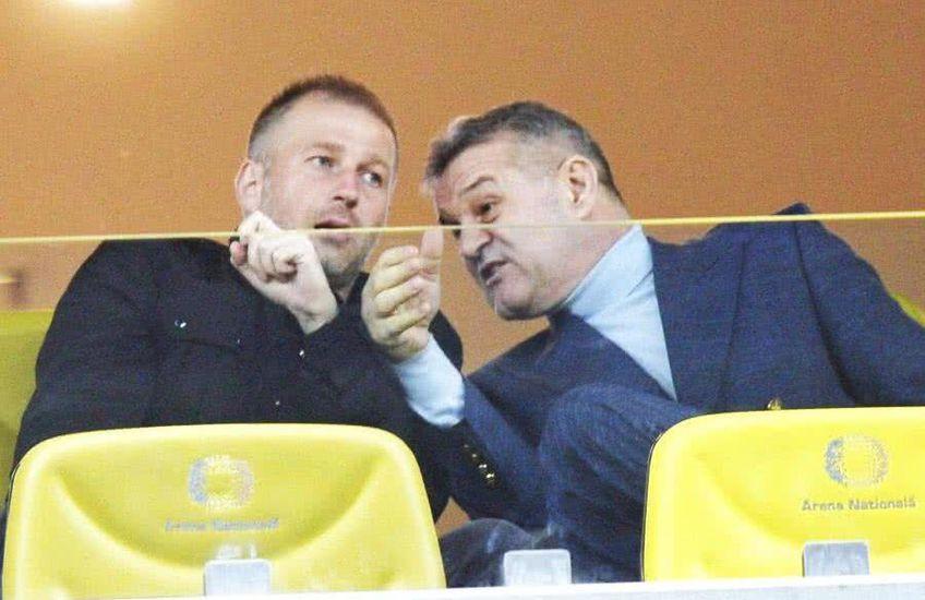 Becali și Iordănescu se ceartă