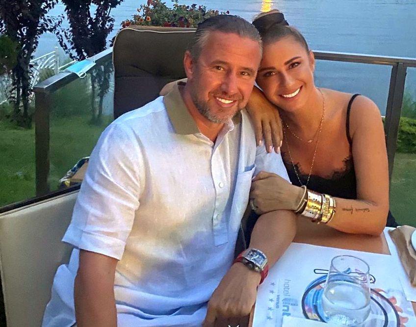 Anamaria Prodan și Laurențiu Reghecampf, vacanță la Venus