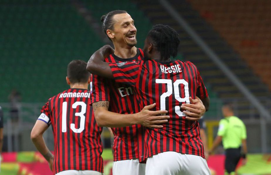AC Milan s-a impus în fața lui Juventus, scor 4-2 // foto: Guliver/gettyimages