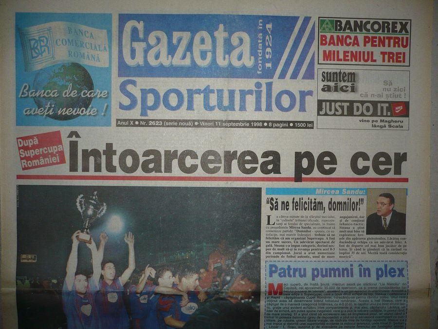 CSA Steaua și-a trecut în palmares un trofeu care nu-i aparține! Se adâncesc confuziile în privința istoriei roș-albaștrilor