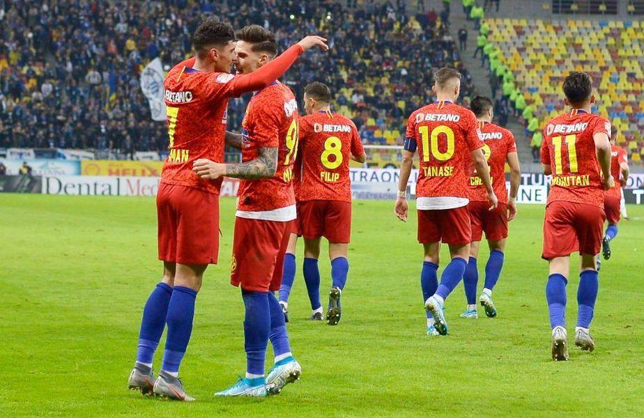 Cel mai valoros fotbalist din Liga 1 este Florinel Coman (FCSB)