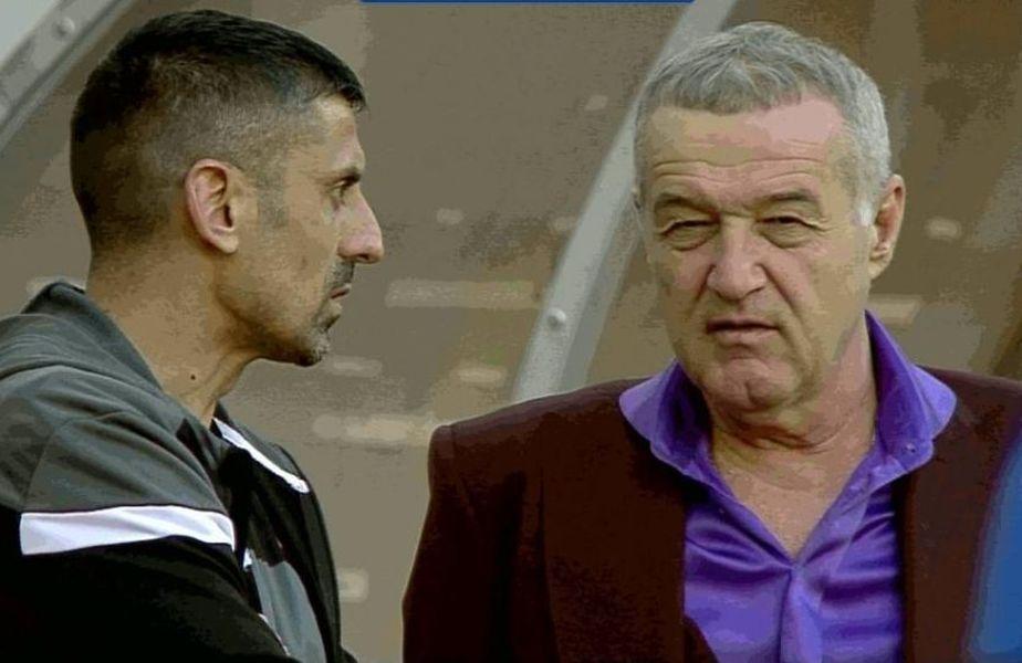 Discuția liniștită între Dănciulescu și Becali FOTO Captură TV