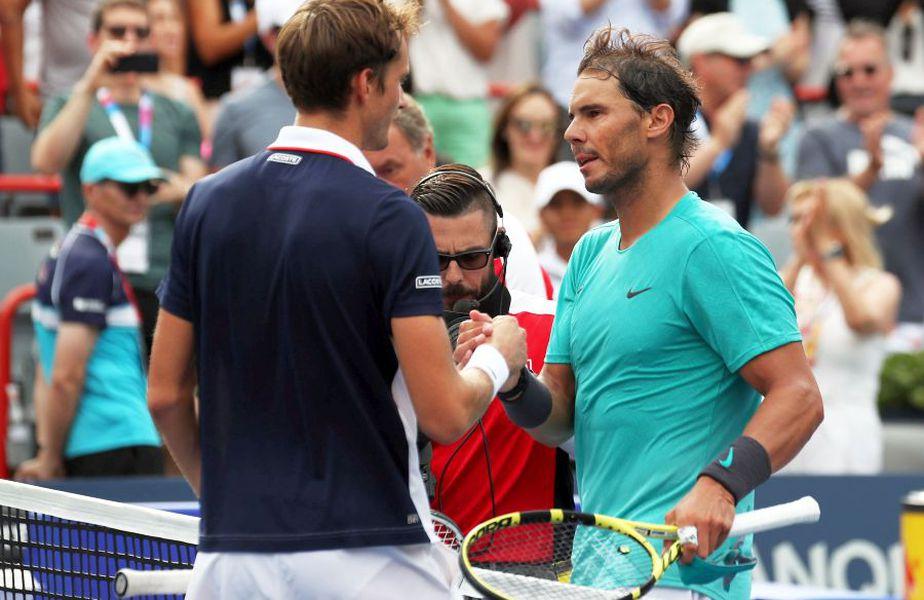 Rafael Nadal - Daniil Medvedev // foto: Reuters