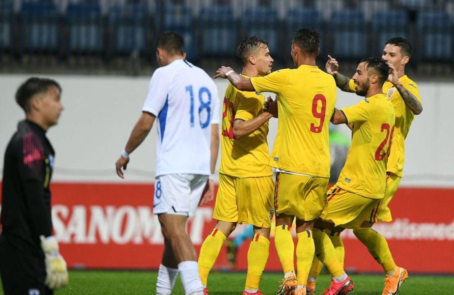 România U21 mai speră la șefia grupei după pasul greșit al danezilor cu Ucraina