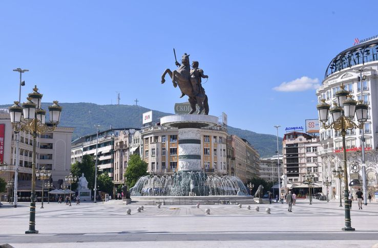 Statuia lui Alexandru Macedon