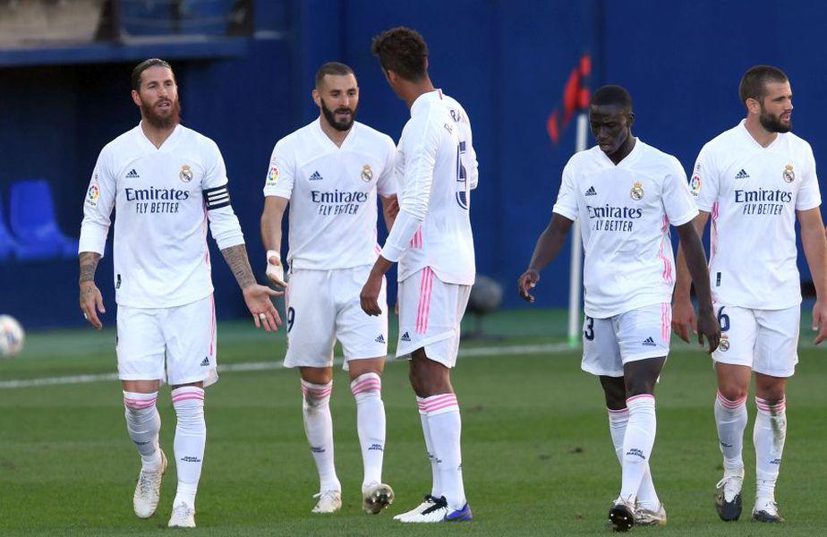 Real Madrid este prima în La Liga după 4 etape // foto: Guliver/gettyimages